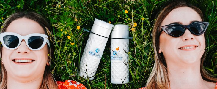 Ekologiczna butelka z trzciny cukrowej Ecoperla Ecobott